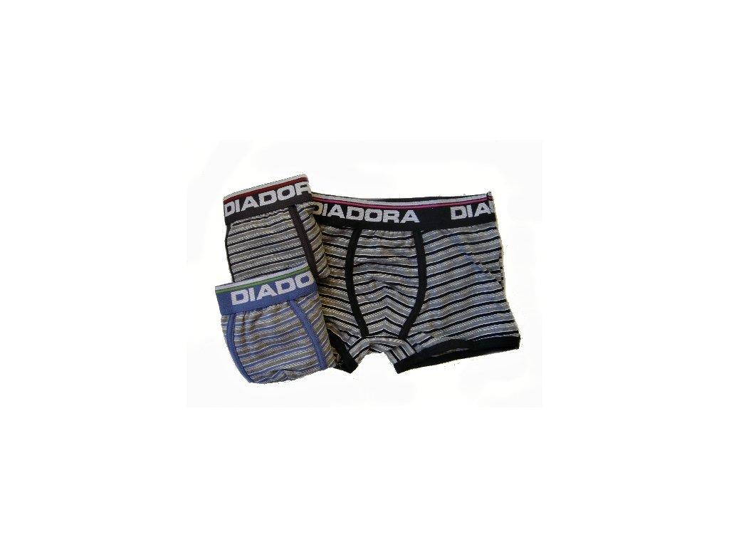 Diadora 856 chlapecké boxerky (Barva černá, Velikost oblečení 8-128)