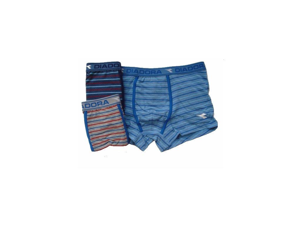 Diadora 803 chlapecké boxerky (Barva šedá melanž, Velikost oblečení 7-122)