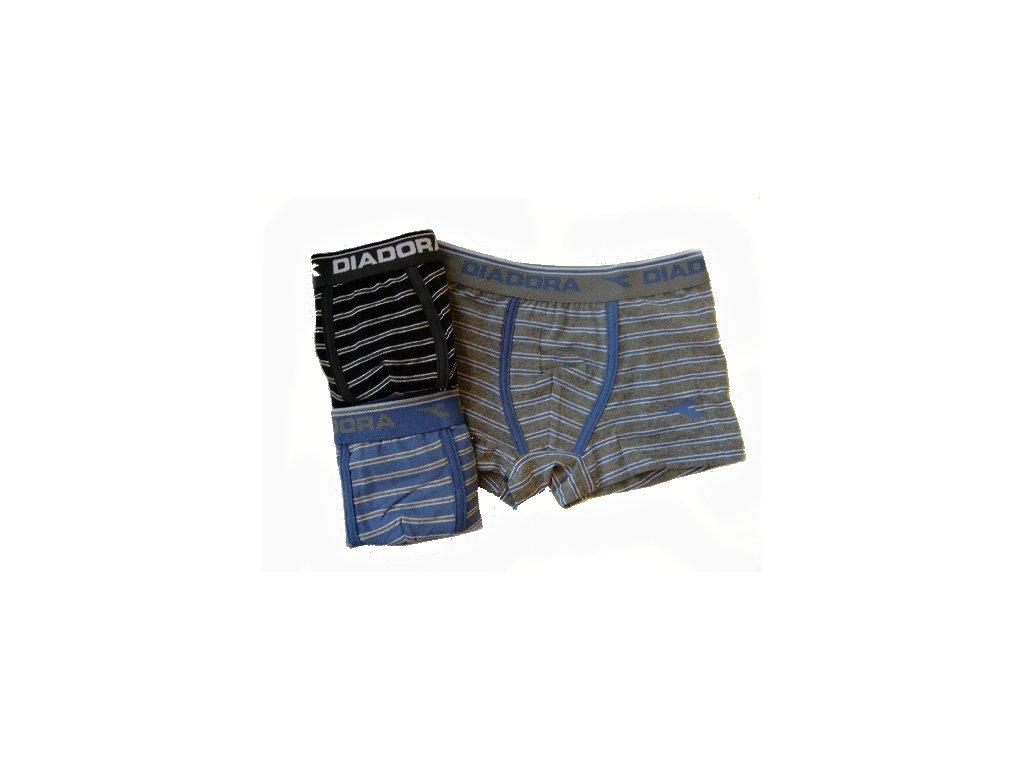 Diadora 862 chlapecké boxerky (Barva černá, Velikost oblečení 8-128)