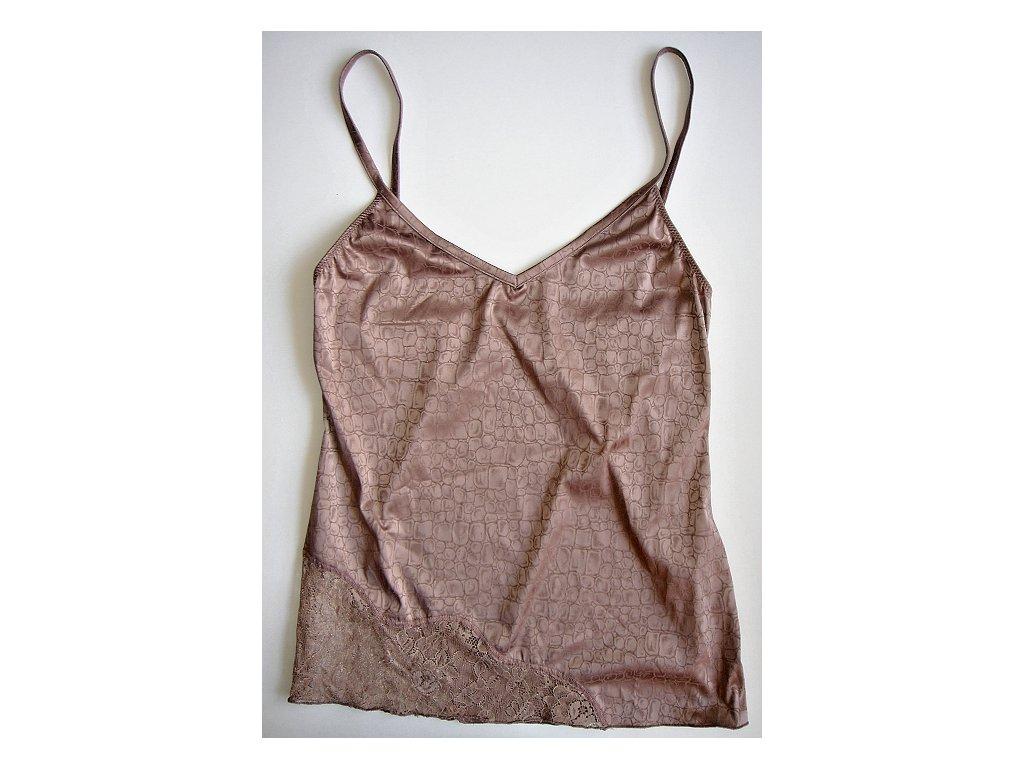 Lormar Moon dámská košilka (Barva hnědá, Velikost oblečení M)