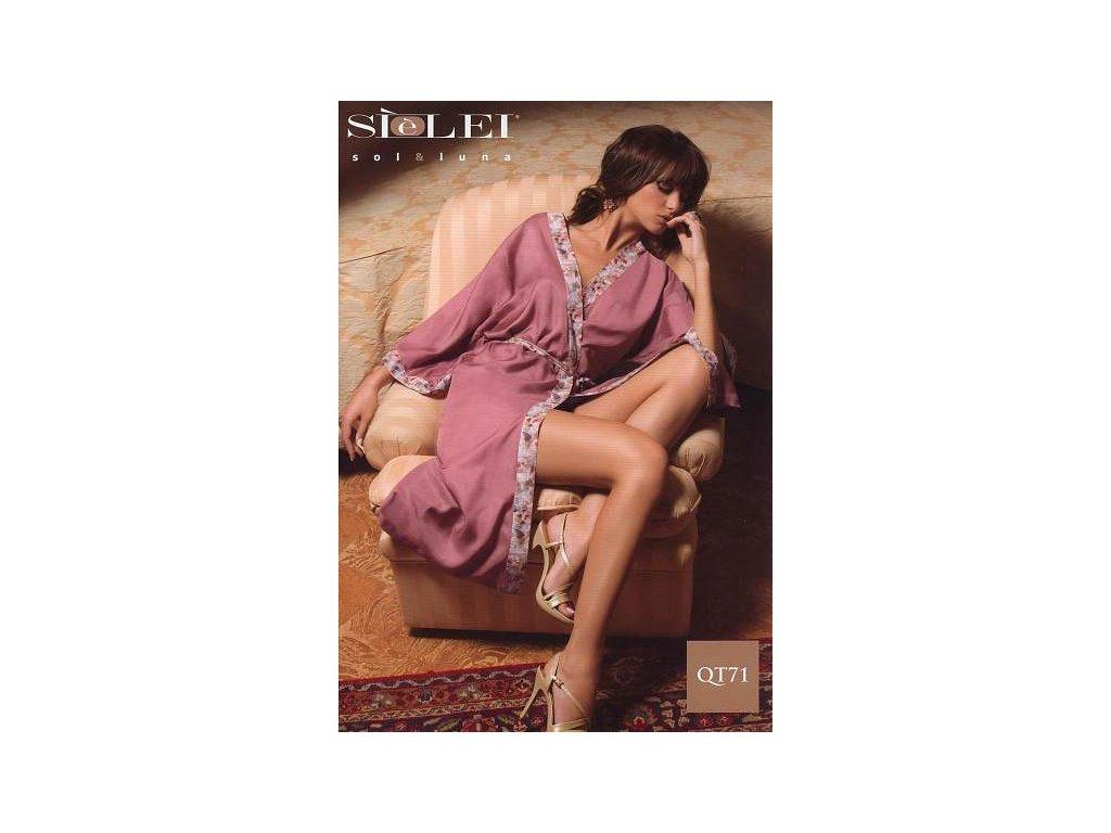 Sielei OT71 dámský župan (Barva béžová, Velikost oblečení M)