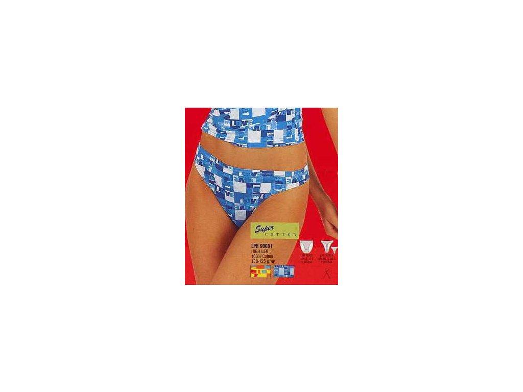 KEY 900LPS dámské tanga (Barva modrá, Velikost oblečení S)