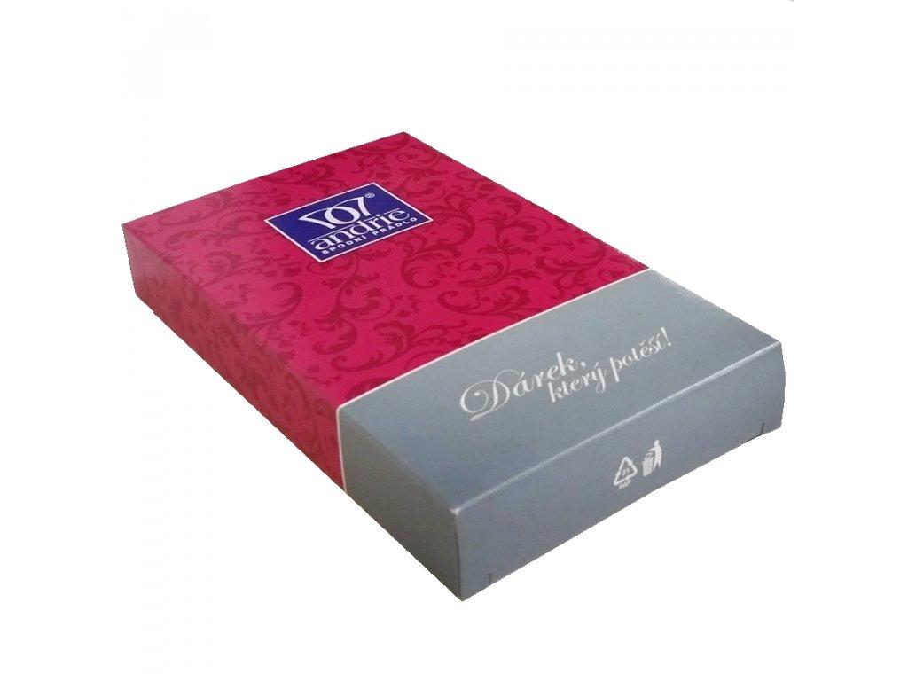 Dárková krabička Andrie fuxia (Barva fuxia)