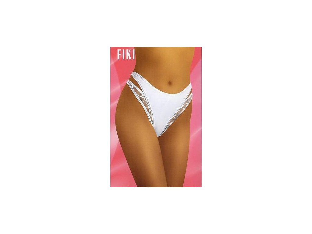 Wolbar Fiki dámské kalhotky (Barva bílá, Velikost oblečení M)