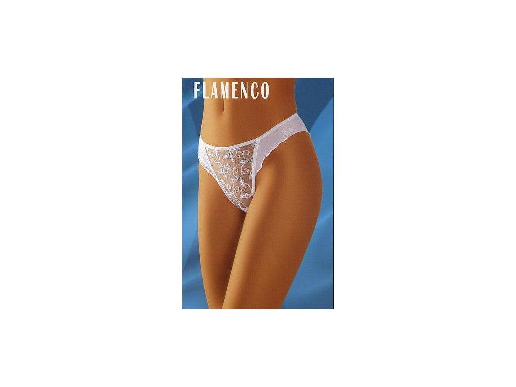 Wolbar Flamenco dámské kalhotky (Barva bílá, Velikost oblečení S)