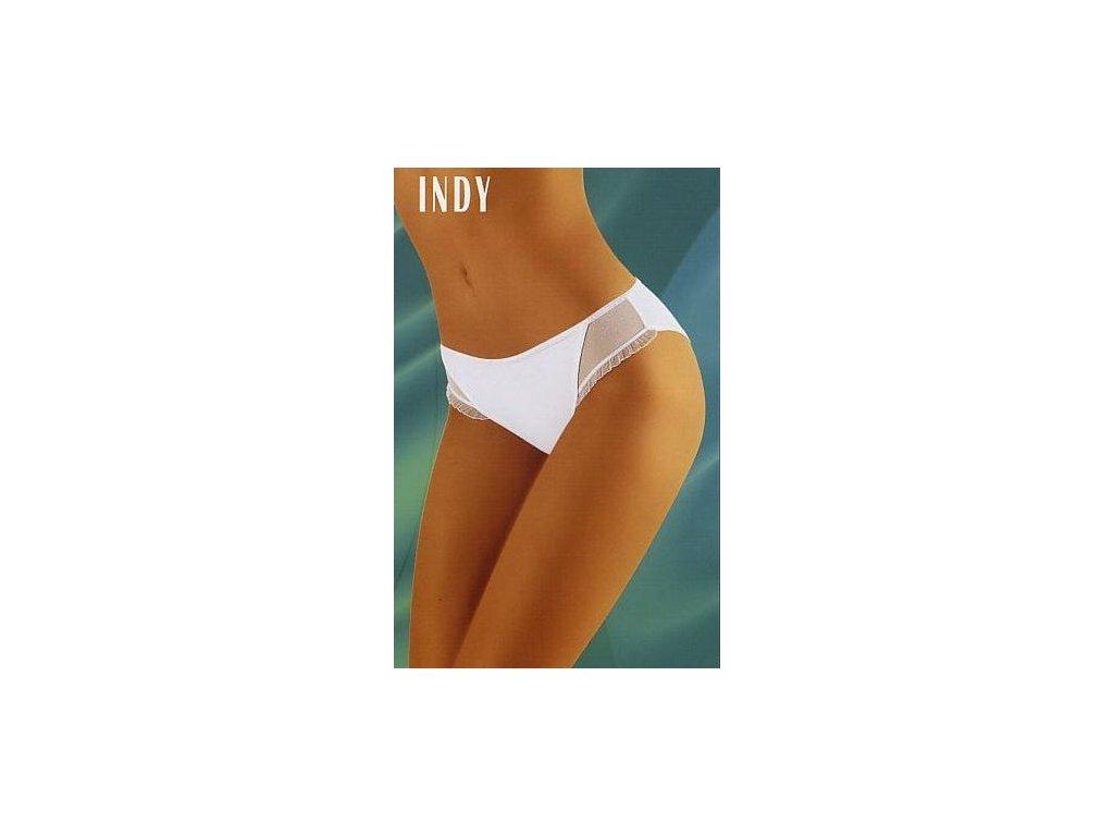 Wolbar Indy dámské kalhotky (Barva bílá, Velikost oblečení S)