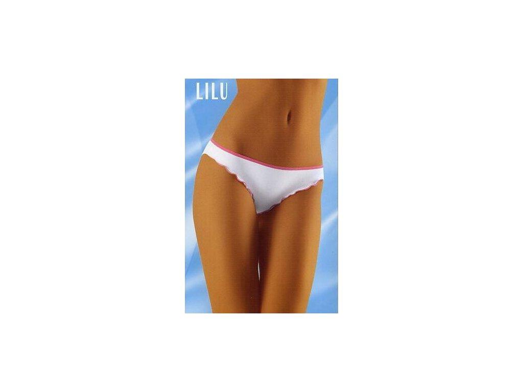 Wolbar Lilu dámské kalhotky (Barva bílá, Velikost oblečení S)