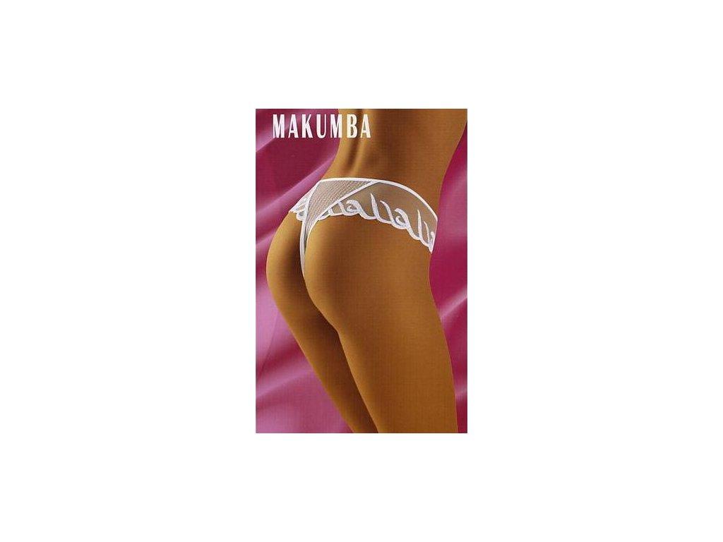 Wolbar Makumba dámská tanga (Barva bílá, Velikost oblečení M)