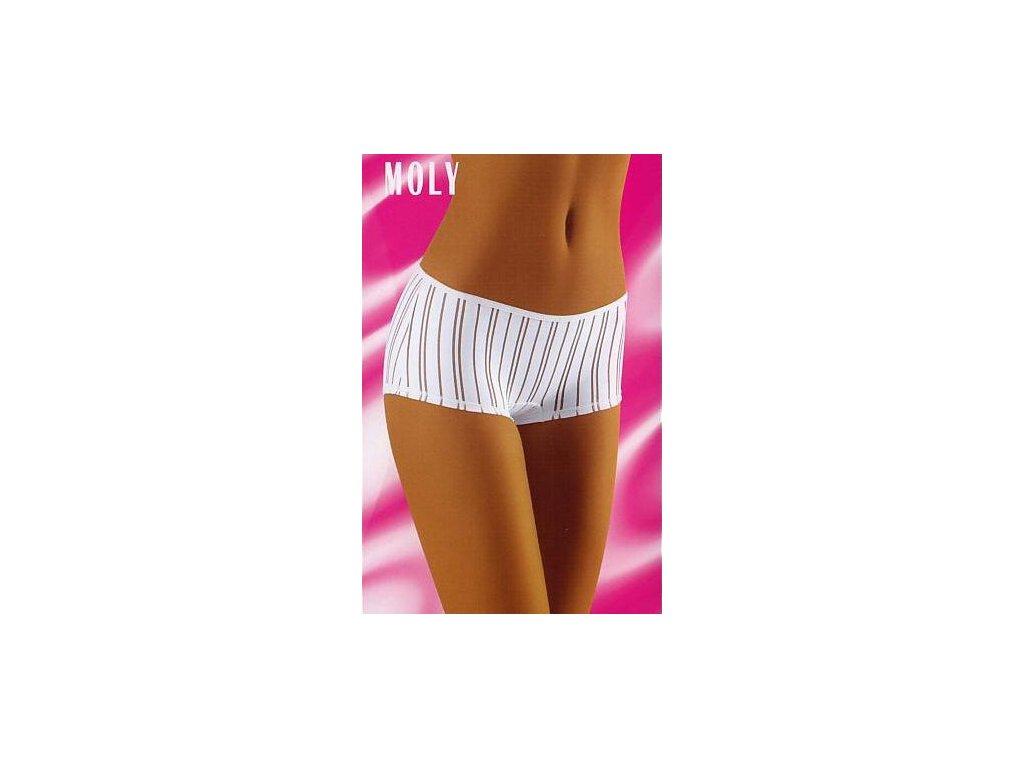 Wolbar Moly dámské kalhotky (Barva bílá, Velikost oblečení S)
