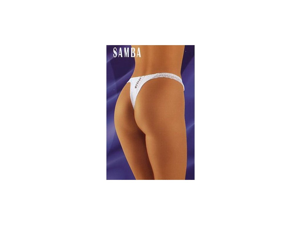 Wolbar Samba dámská tanga (Barva černá, Velikost oblečení S)