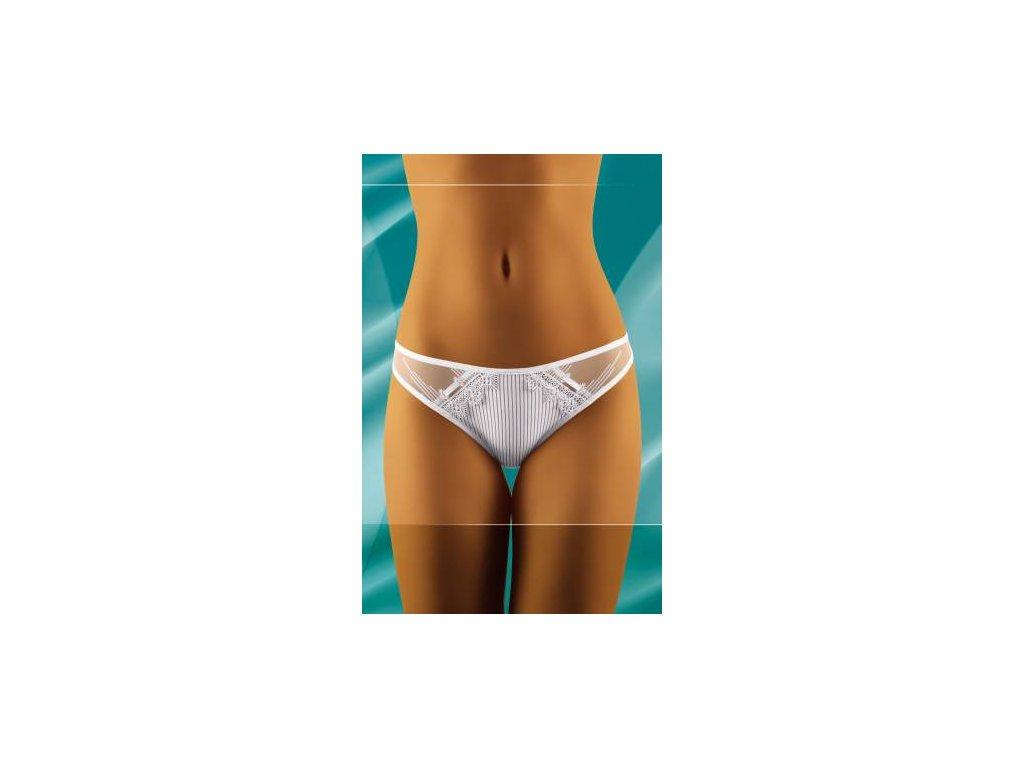 Wolbar Sisi dámské brazilské kalhotky (Barva bílá, Velikost oblečení M)