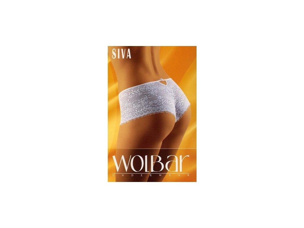 Wolbar Siva dámské kalhotky (Barva bílá, Velikost oblečení S)