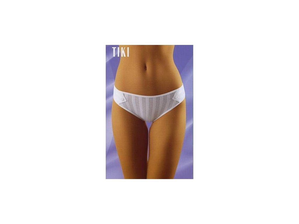 Wolbar Tiki dámské kalhotky (Barva bílá, Velikost oblečení M)