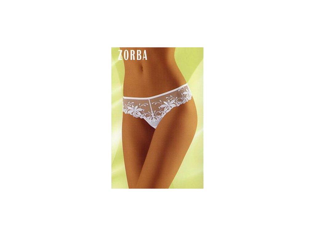 Wolbar Zorba dámská tanga (Barva bílá, Velikost oblečení M)