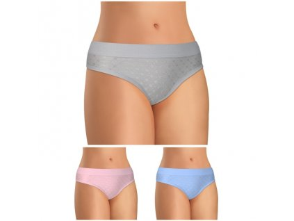 2800 damske kalhotky s plochym lemem perfect fit sede ruzove modre