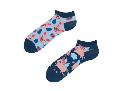 kotnikove ponozky letajici prasatka dedoles happy sock