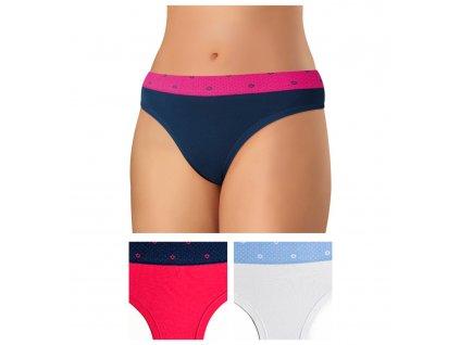 2808 barevne kalhotky perfect fit andrie