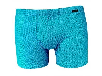 5518 modre vzorovane boxerky