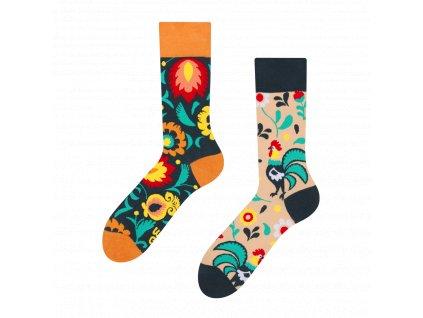gmrs135 veselé ponožky kohout