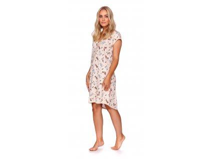 Dobranocka 9940 dámská noční košile (Barva růžová, Velikost oblečení M)