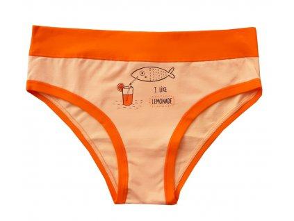 2845 damske kalhotky s rybou