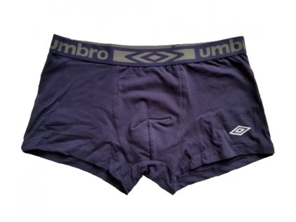 UIB 5079 NAVY jednobarevne panske boxerky Umbro