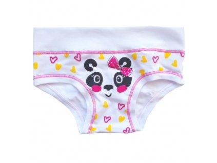 E 2084 rosa fluo bimba spodni kalhotky