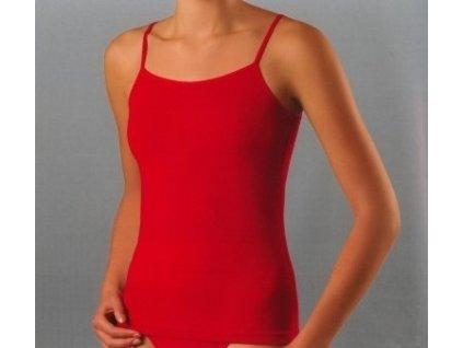 cervena damska kosilka