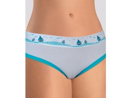 Andrie PS 2418 dámské kalhotky (Barva tyrkysová, Velikost oblečení 2XL)