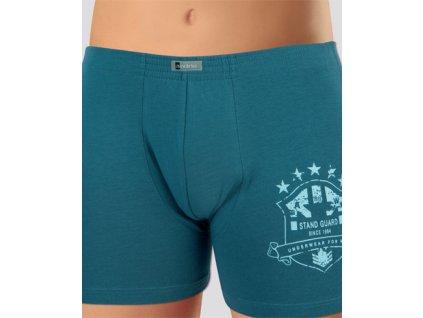 Andrie PS 4972 pánské boxerky (Barva šedá tmavá, Velikost oblečení 3XL)