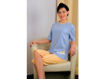 Andrie PS 9126 dámské pyžamo (Barva růžová, Velikost oblečení XL)
