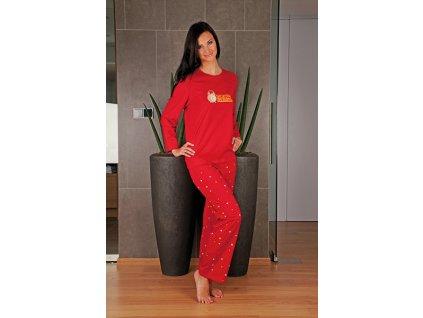 Andrie PS 9164 dámské pyžamo (Barva modrá, Velikost oblečení XL)