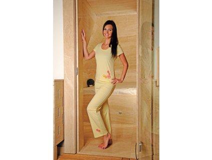 Andrie PS 9170 dámské pyžamo (Barva zelená, Velikost oblečení XL)