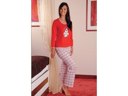 Andrie PS 9175 dámské pyžamo (Barva růžová, Velikost oblečení XL)