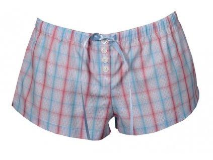 Luiz Gita dámské šortky popelínové (Barva modrá světlá, Velikost oblečení S)