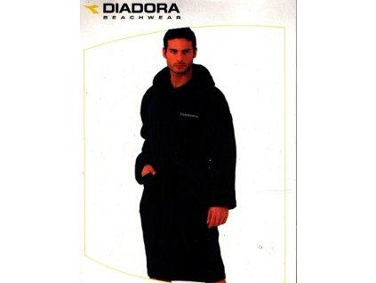 Diadora 10504 pánský župan froté (Barva bílá, Velikost oblečení XL)
