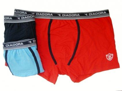 Diadora 113 chlapecké boxerky (Barva modrá, Velikost oblečení 7-122)