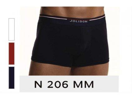 Jolidon 206 pánské boxerky (Barva červená, Velikost oblečení L)