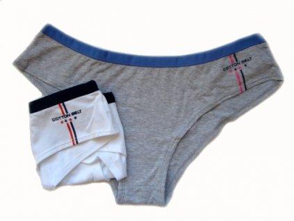 Cotton Belt 33022 dámské kalhotky (Barva šedá, Velikost oblečení L)