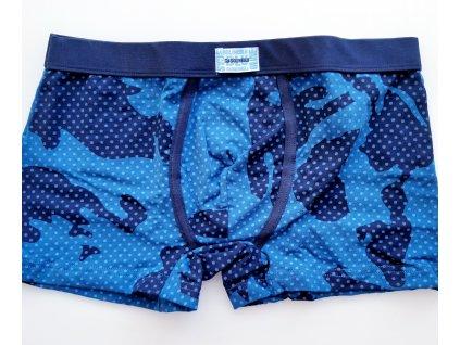Gasoline Blu 4960 pánské boxerky (Barva modrá tmavá, Velikost oblečení XL)