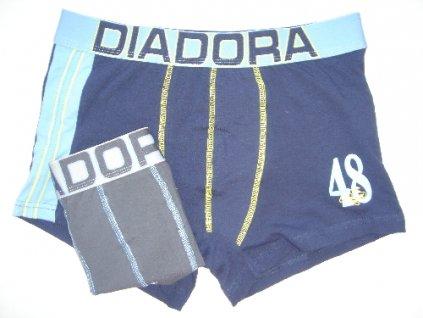 Diadora 5250 pánské boxerky (Barva modrá tmavá, Velikost oblečení S/M)