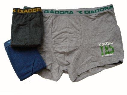 Diadora 5380 pánské boxerky (Barva šedá světlá, Velikost oblečení XL)