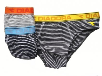 Diadora 5422 pánské slipy (Barva modrá, Velikost oblečení XL)