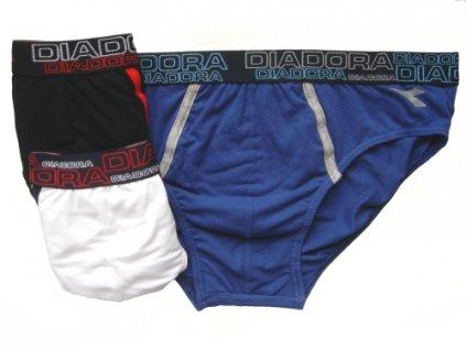 Diadora 5440 pánské slipy (Barva černá, Velikost oblečení XL)