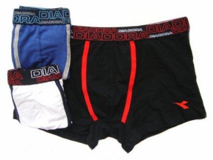 Diadora 5441 pánské boxerky (Barva černá, Velikost oblečení XL)
