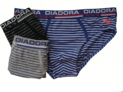 Diadora 5446 pánské slipy (Barva černá, Velikost oblečení XL)