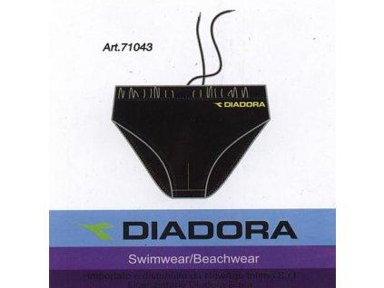 DIADORA 71043 pánské plavky (Barva černá, Velikost oblečení S)