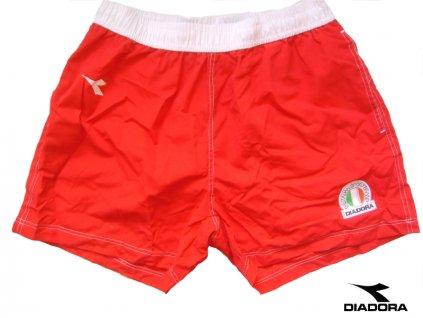 DIADORA 71050 pánské plavky (Barva červená, Velikost oblečení S)