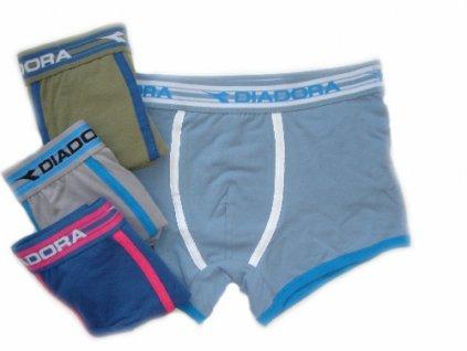 Diadora 771 pánské boxerky (Barva šedá, Velikost oblečení S/M)