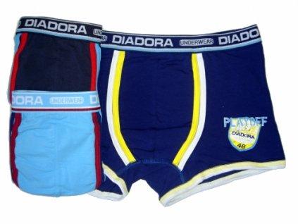 Diadora 807 chlapecké boxerky (Barva modrá světlá, Velikost oblečení 7-122)